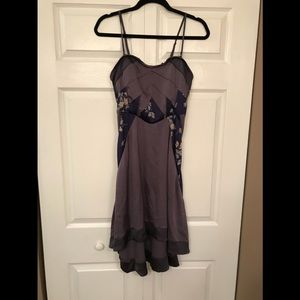 Rare Free People Silk Dress